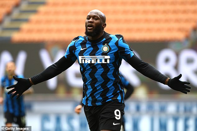 Lukaku returns to Chelsea having just won the Serie A title with Inter Milan (above)