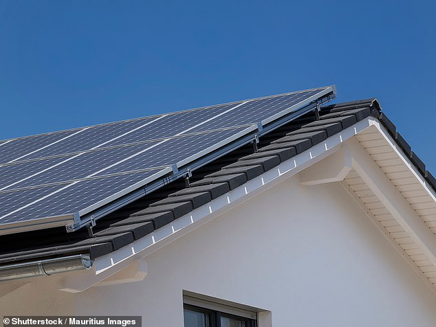 Adaptations such as solar panels can improve the chance of getting an Energy Performance Certificate rating of C or above and potentially qualifying for a green mortgage