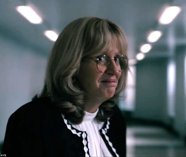 Creepy: Paulson appears to be playing the character of Linda Tripp for scares in the show