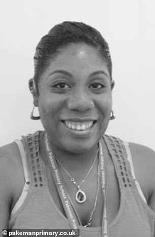 Mrs Keane-Barnett-Simmons taughtat Pakeman Primary School in Holloway, north London, as a year one classroom assistant