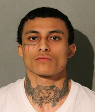 Emonte 'Monty' Morgan, 21, is charged with first degree murder, attempted first degree murder, aggravated unlawful use of a weapon, and unlawful use of a weapon by a felon