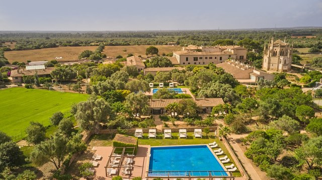 Zoetry Mallorca, pictured, is a stunning step-back-in-time country estate hotel
