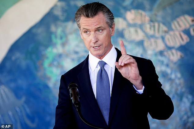 California's Democratic Gov. Gavin Newsom is facing a recall election on September 14, but is expected to receive help from high-profile Democrats
