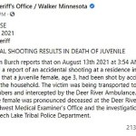 """A 5-year-old boy """"accidentally"""" shoots a 3-year-old girl at his home in Minnesota - Texas News Today"""
