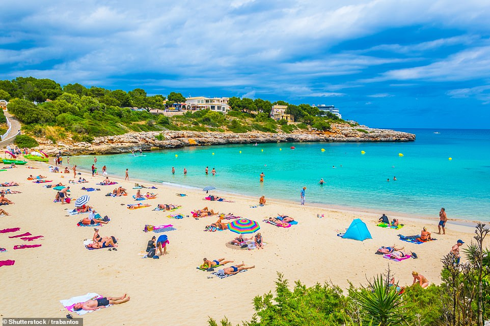 Enticing beachCala Marcal, which is a walkable distance from another gem - Cala Brafi