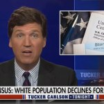 Tucker Carlson blasts CNN guests for cheering the 'extinction' of white Americans 💥👩💥