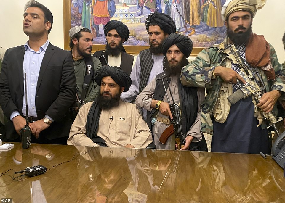 Taliban fighters take control of Afghan presidential palace after the Afghan President Ashraf Ghani fled the country.In the weeks leading up to their return to power, the Taliban's leadership have strived to portray a softer image than when they last ruled Afghanistan between 1996 and 2001, but women are struggling to take comfort from such assurances