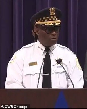 Chicago Police Department Superintendent David Brown referred to slain police officer Ella French as 'Ella Fitzgerald' twice earlier this week.