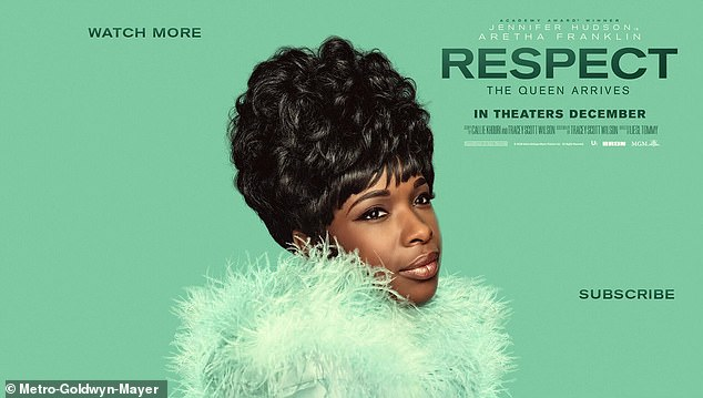 Incoming: Jennifer's biopic, released Aug. 13, is the version approved by Aretha's family