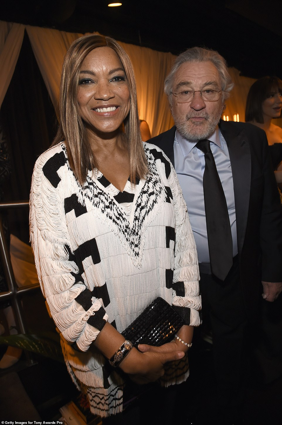 Exes:Robert De Niro and Grace were married in 1997, split in 1999, then got back together, renewed their vows in 2004 before he filed for divorce in 2018 (pictured 2018)