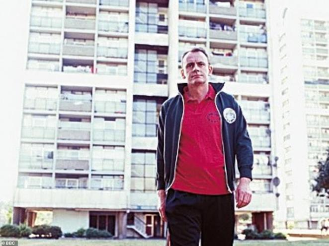Lock had his own show on BBC Radio 4 called 15 Minutes Of Misery, which was later expanded into TV series 15 Storeys High (pictured)
