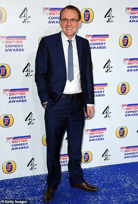 Comedian Sean Lock attends the British Comedy Awards at Fountain Studios in London in December 2012