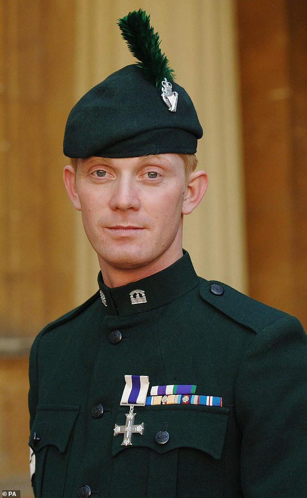 Mr Coult (pictured), who was awarded the MC by the Queen for his heroic actions in Iraq, told MailOnline: 'I can't believe he can be so deluded and out of touch