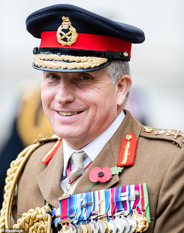 Veterans and politicians rounded on the Chief of the Defence Staff (pictured) after he suggested the Islamist group may have changed