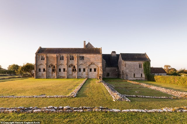 Once a wealthy Benedictine monastery and the second oldest religious foundation in Somerset, when complete the abbey's buildings included a magnificent church, cloister, chapter house, dormitory, refectory, and lodgings for the abbot (pictured)