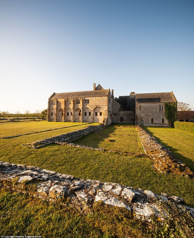 The monks of Muchelney Abbey had followed the Rule of St Benedict, which prohibited eating meat from four-legged animals in the refectory. But new research by English Heritage has revealed the changes that were made to the abbey when the law was relaxed to allow them to eat meat twice a week
