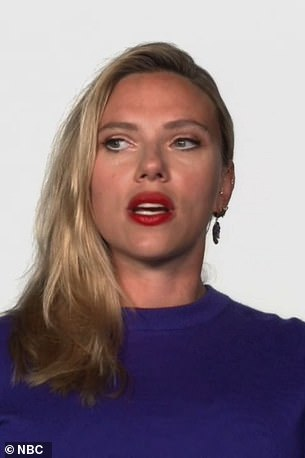 Scarlett Johansson on The Tonight Show with Jimmy Fallon on June 22nd