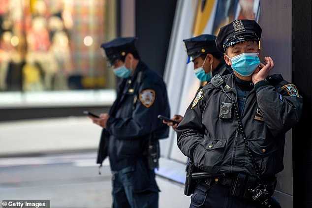 The new mask guidance for cops was rolled out in an administrative bulletin on Tuesday night that said violations would be met with unspecified discipline
