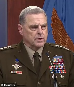 'Right now the focus is on the mission ... there will be plenty of time to talk about regrets,' Joint Chiefs chair Mark Milley said when asked about regrets