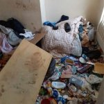 Disgusting images show shocking state of home trashed by tenants from hell 💥👩💥