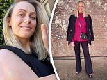 Sylvia Jeffreys celebrates being vaccinated and says she is 'grateful' to be protected against Covid