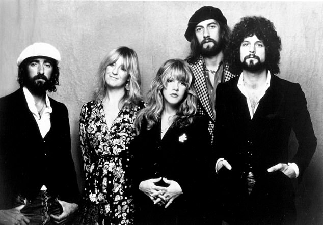 During her chat with McGraw, Nicks (center) saidshe would avoid going into too much detail about her drug and alcohol use, and subsequent addictions, if she decides to go forward and tell her life story in a book or film; Fleetwood Mac seen in 1975