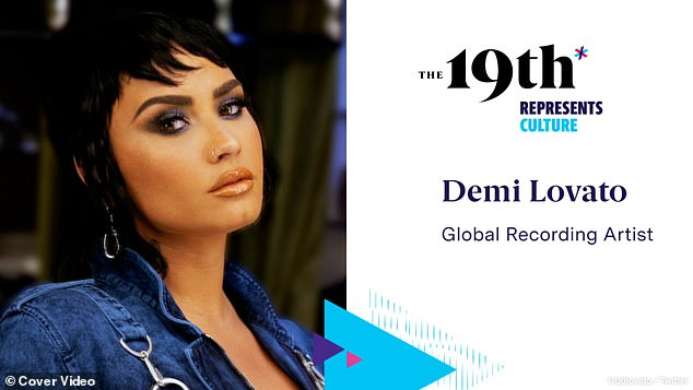 The hitmaker acknowledged during a talk for The 19th Represents Summit that the relationship and its demise 'had everything to do' with the onset of the coronavirus pandemic, which coincided with Lovato's journey in 'starting to identify as non-binary'