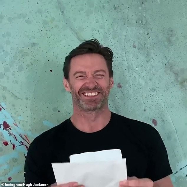 Leading man:Hugh is also known for roles including The Greatest Showman and X-Men