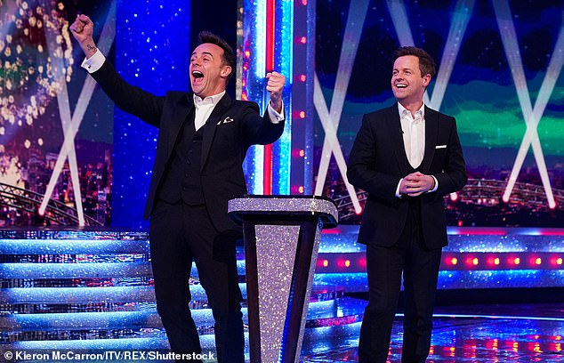 Eureka!Ant (left) and Dec (right) are veteran winners and have been nominated for a record 20th year in a row