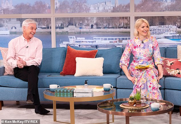 Pals:Holly and Phil have continued to delight viewers with their on-screen antics (pictured in 2021)
