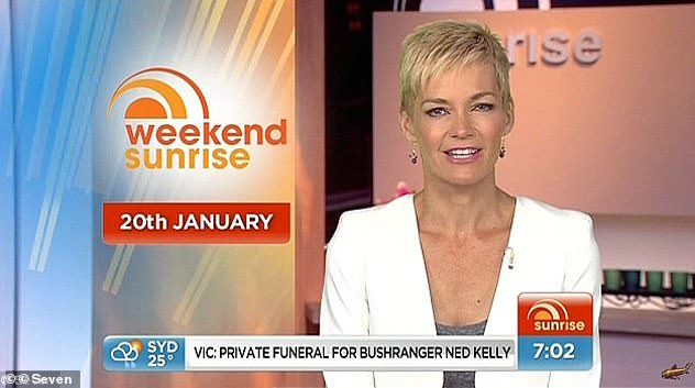 Jumping ship: Jessica left the Today show in 2007 following her return from maternity leave. At the time, she cited payment issues as the reason for her departure. She later joined Channel Seven as a newsreader and presenter on Weekend Sunrise