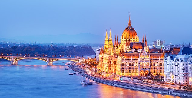 Illuminating: You'll learn about the Hungarian capital Budapest and its magnificent parliament building, above, on the Danube during your trip
