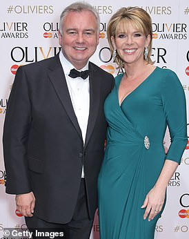 You will be joined byEamonn Holmes and Ruth Langsford