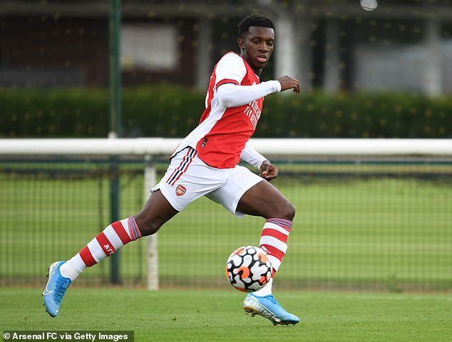 Crystal Palace could make a move for Arsenal youngster Eddie Nketiah before deadline day