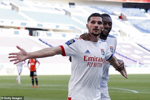 Aouar scored eight goalsand provided four assists in 33 appearances for Lyon last season