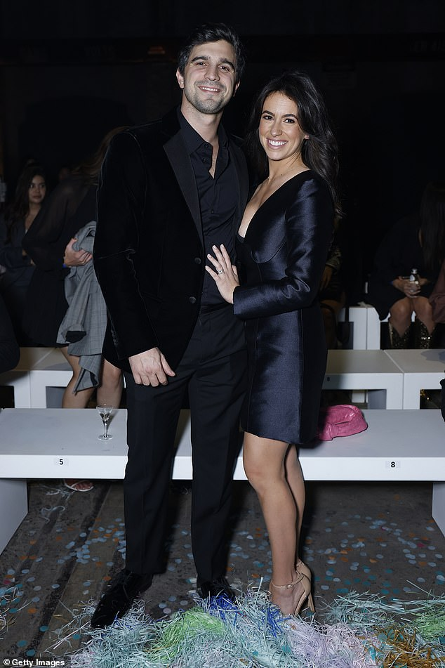 Stock market darling Afterpay has seen its losses blow out to $156million or by 689 per cent despite a massive share market price surge since the start of the pandemic. The buy now, pay later giant, launched by Nick Molnar (pictured with wife Gabrielle) and Anthony Eisen in 2014, has have a phenomenal share market success during a time of uncertainty with its price surging from just $8.80 in March 2020 to $152 as of February 2021