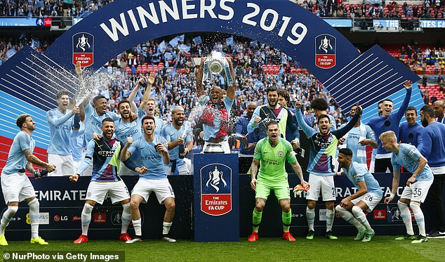 They also won the 2019 FA Cup final after thrashing Watford 6-0 at Wembley Stadium
