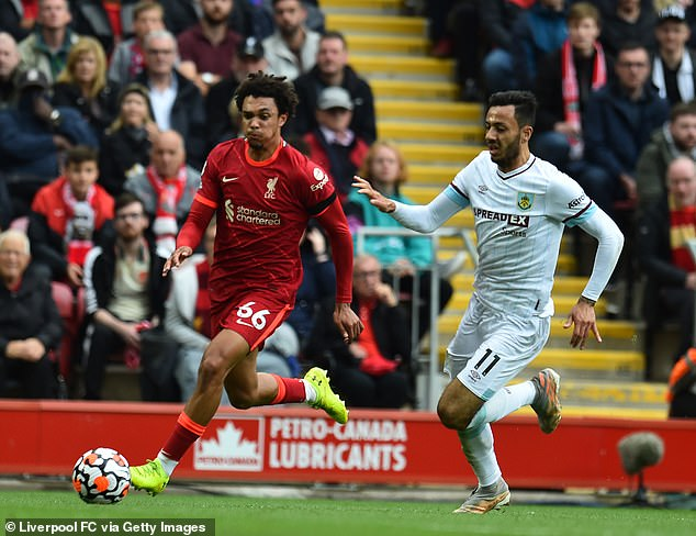 He has excelled at Liverpool during their opening games of the Premier League season