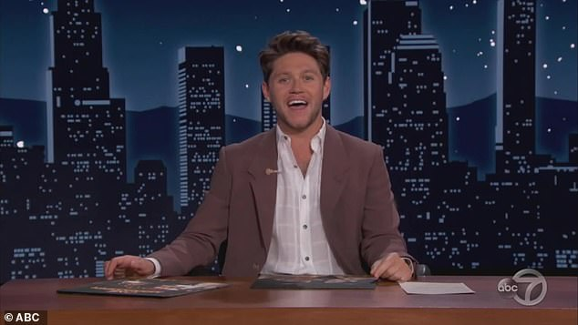 Comparison:Niall Horan fans have likened him to James Corden following his successful appearance on the Jimmy Kimmel show
