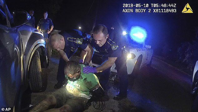Video taken from Trooper Dakota DeMoss' body camera shows the violent of arrest of Greene on May 10, 2019. Louisiana State Police initially reported that he had died in a car crash