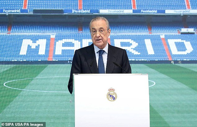 Florentino Perez is trying to get a marquee signing despite financial problems at the club
