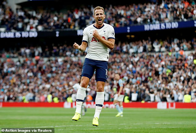 Kane admitted defeat on his rumoured £150m move to Manchester City and will stay at Spurs