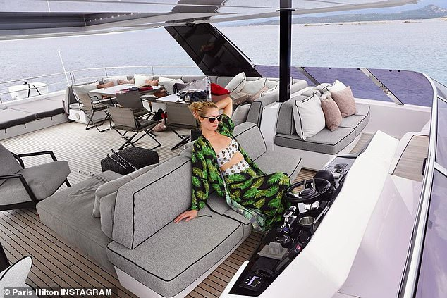 Designer:She tagged Sunreef Yachts in the post, described as being the world's leading designer and builder of luxury custom made catamarans and catamaran-superyachts