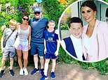 Coleen Rooney looks glowing alongside husband Wayne as they enjoy a fun day out at Thorpe Park