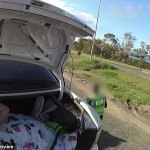 QLD police find illegal border-hopping women, 49, hiding in the boot of a car 💥👩💥