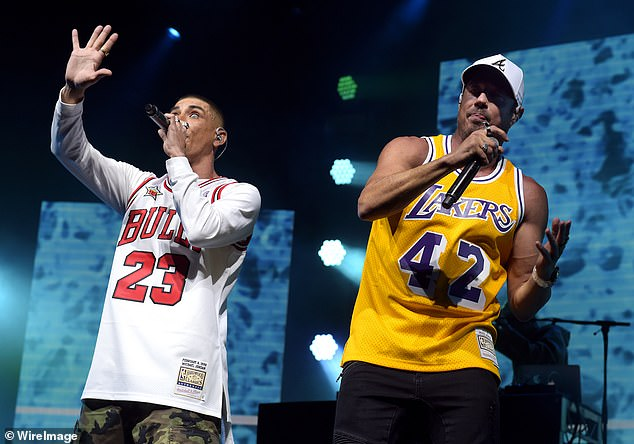 'He was a father to us': Hip hop trio Bliss N Eso reflected on the passing of music industry icon Michael Gudinski with The Herald Sun on Thursday