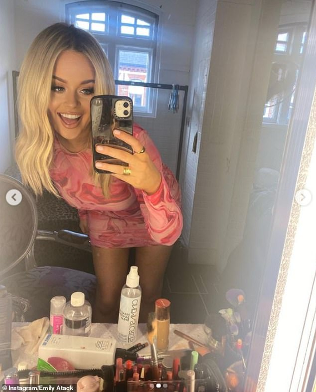 All systems go:Emily has been preparing to go on tour once again, as she hits the road with her stand-up show Emily Atack Has Left The Group this autumn