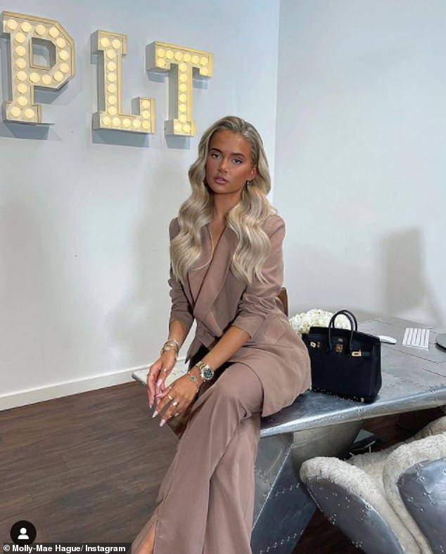 Congratulations!It comes as Molly excitedly revealed that she's been made PrettyLittleThing's creative director, with the influencer remarking that it's a 'dream come true'