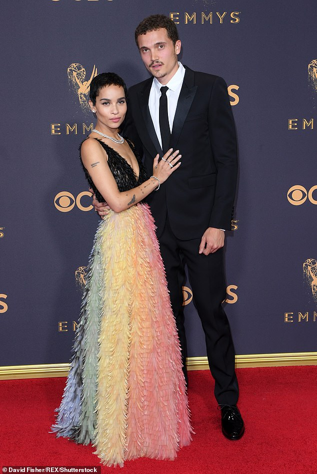 Making way for someone new?Just today it was revealed that Kravitz has finalized her divorce from Karl Glusman. (Pictured in 2017)