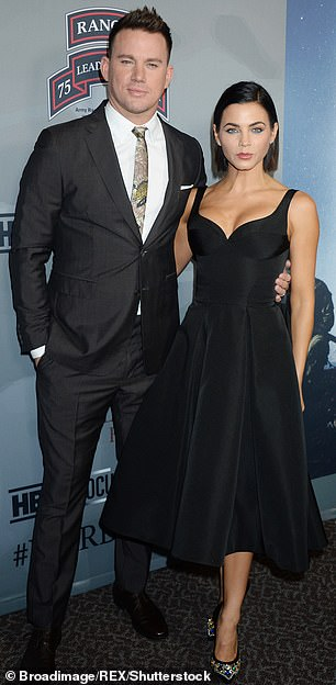 Ex-wife:The 21 Jump Street actor was wed to his Step Up co-star Dewan for 10 years; together they co-parent daughter, Everly, aged eight; seen in 2017